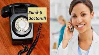 """9 iunie: Ziua """"Sună-ți doctorul!"""""""