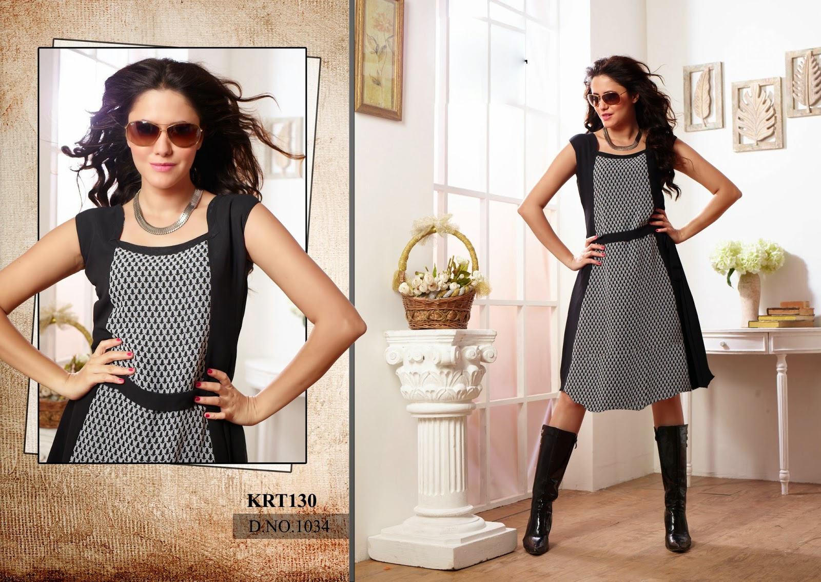 Buy Eccentric Designer kurtis From Megha Shop