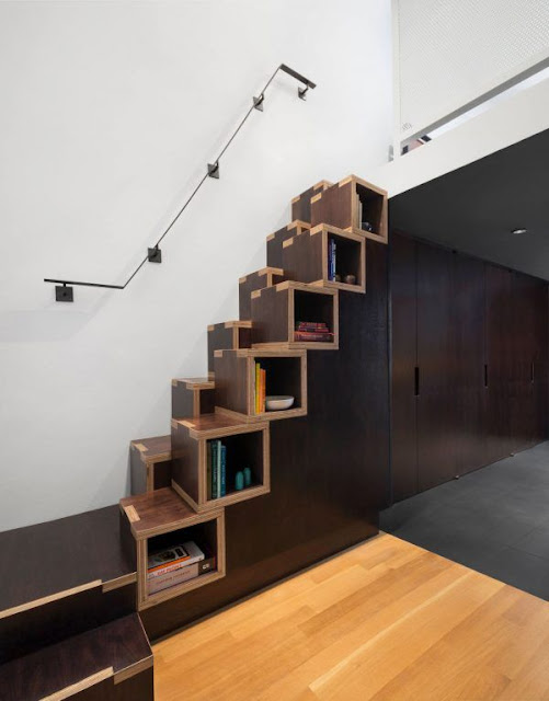 Space saving stair ideas