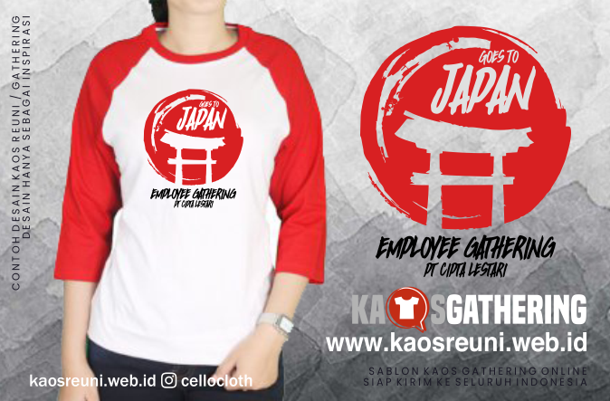 Goes To Japan  - Kaos Family Gathering - Kaos Employe Gathering