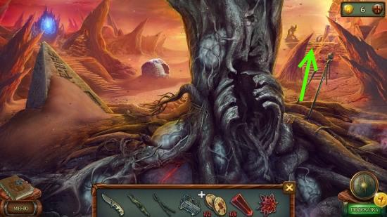 двигаемся далее направо в игре наследие 3 дерево силы