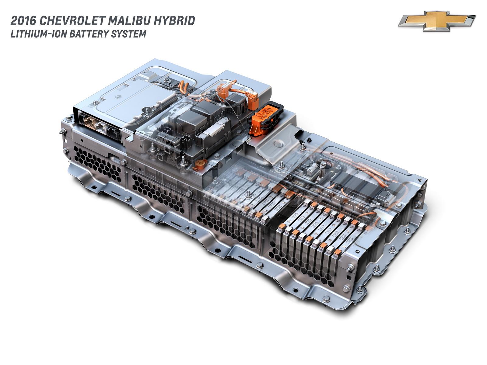 Hệ thống Pin cho Chevrolet Malibu 2016 được sử dụng ở bản Hybrid