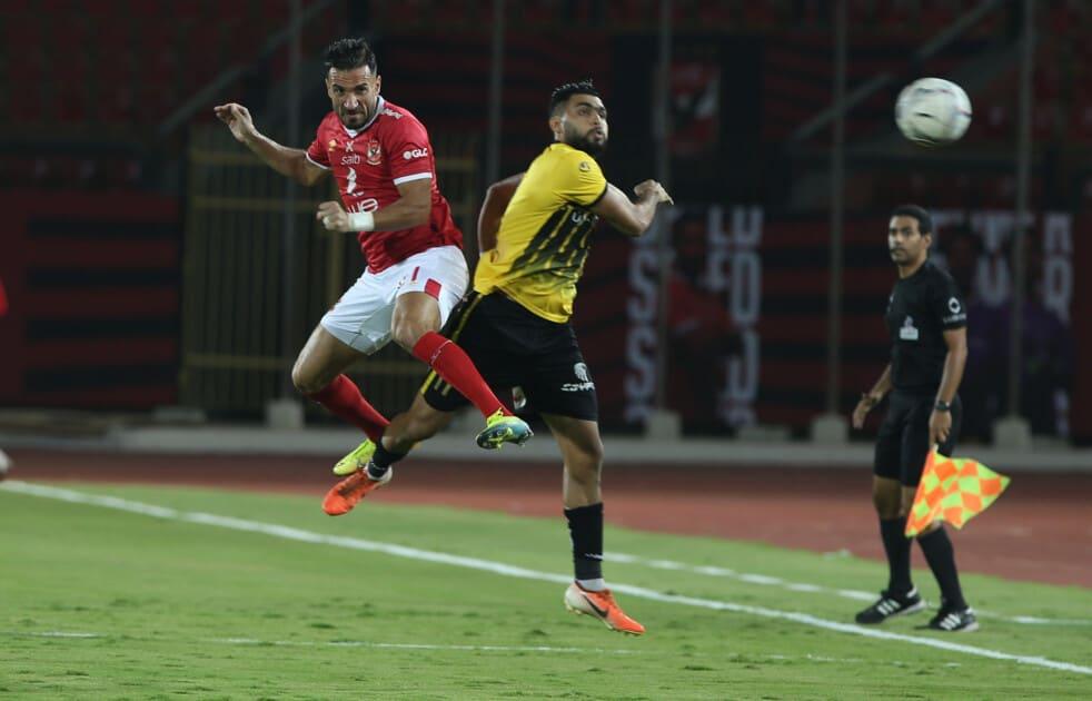 موعد مباراة الاهلي والانتاج الحربي في الدوري المصري