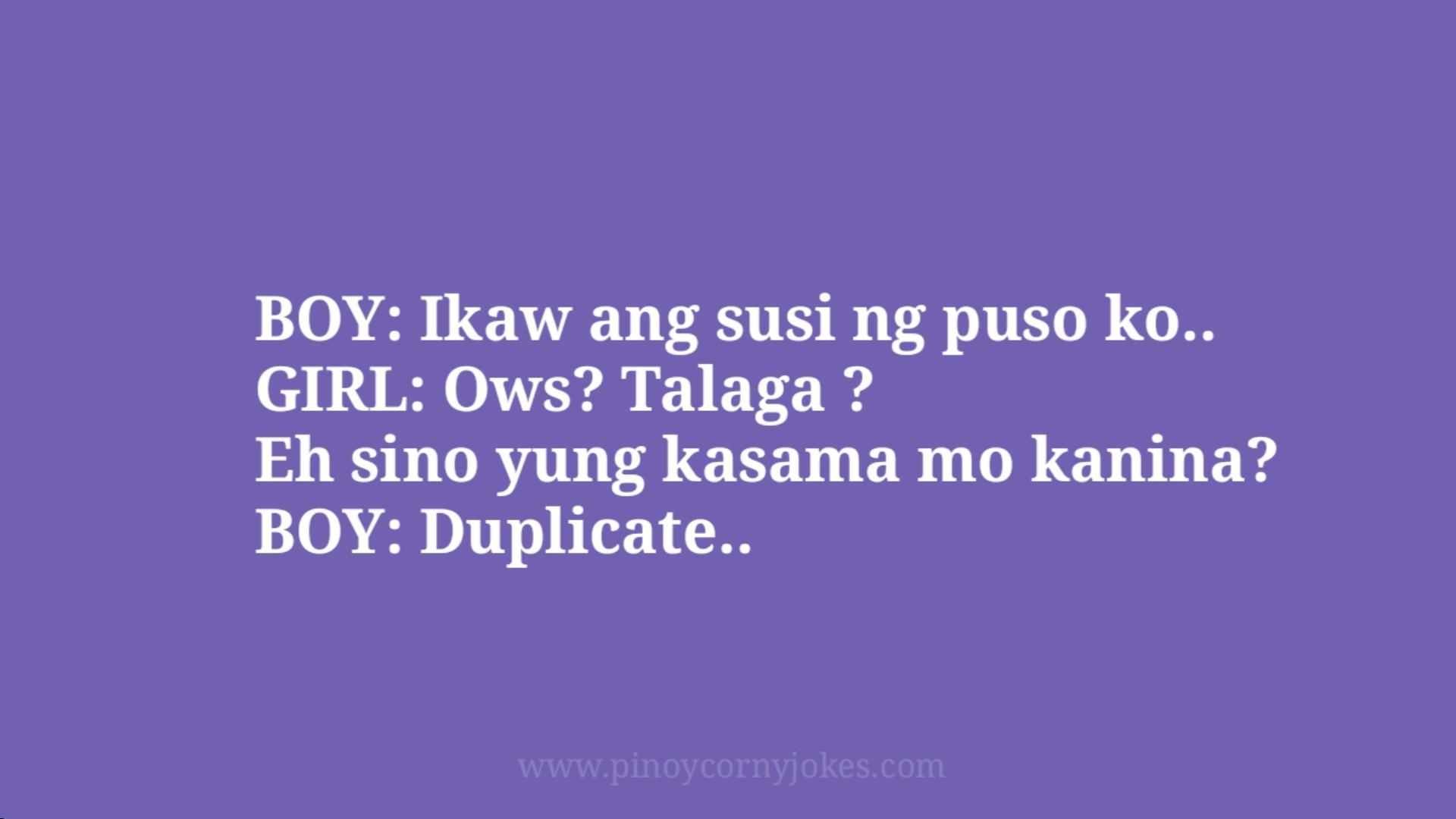 susi ng puso pinoy corny jokes 2021 boy girl