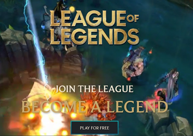 5) League Of Legends