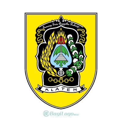 Kabupaten Klaten Logo Vector