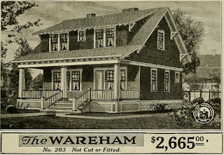 Sears catalog image of Wareham model