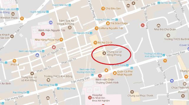 Cho thuê mặt bằng chung cư Lê Hồng Phong quận 5