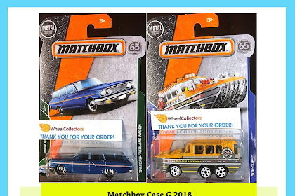 Matchbox Case G 2018