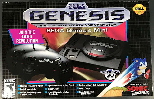 The Sega Genesis Mini reviewed.