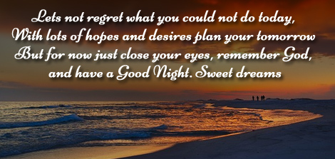 romantic good night wishes images