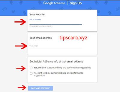 Cara Daftar Google AdSense - Tips dan Cara