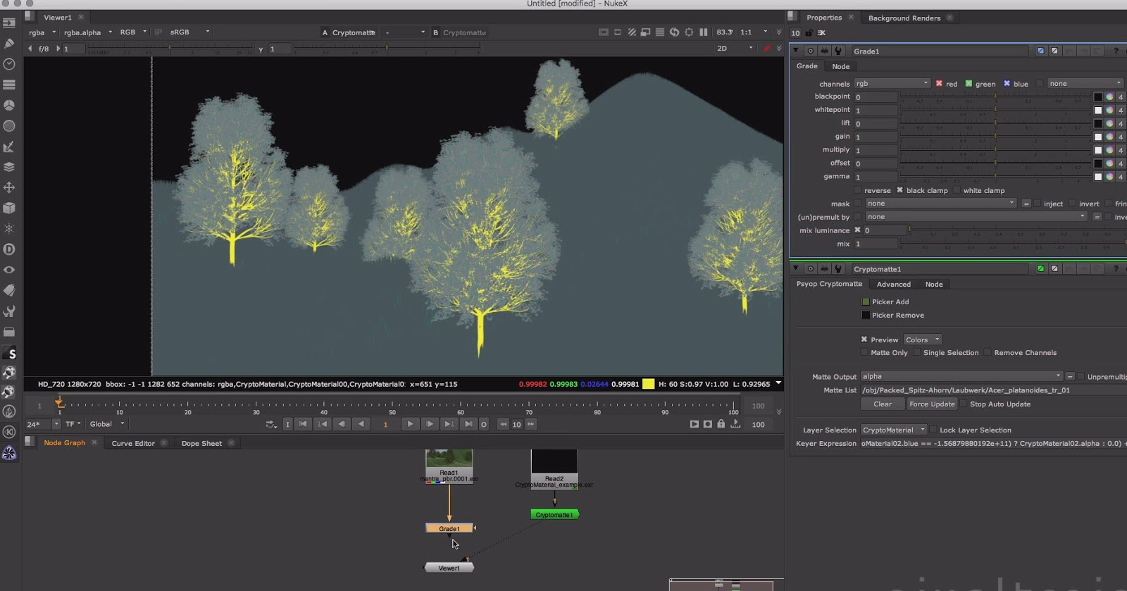 Introduction to Cryptomatte for Houdini FX   CG TUTORIAL