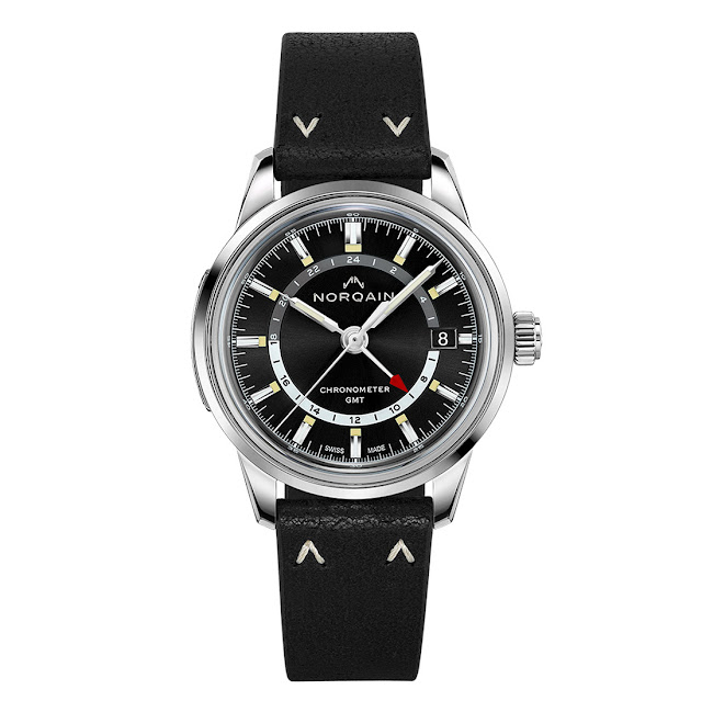 Norqain Freedom 60 GMT  in steel