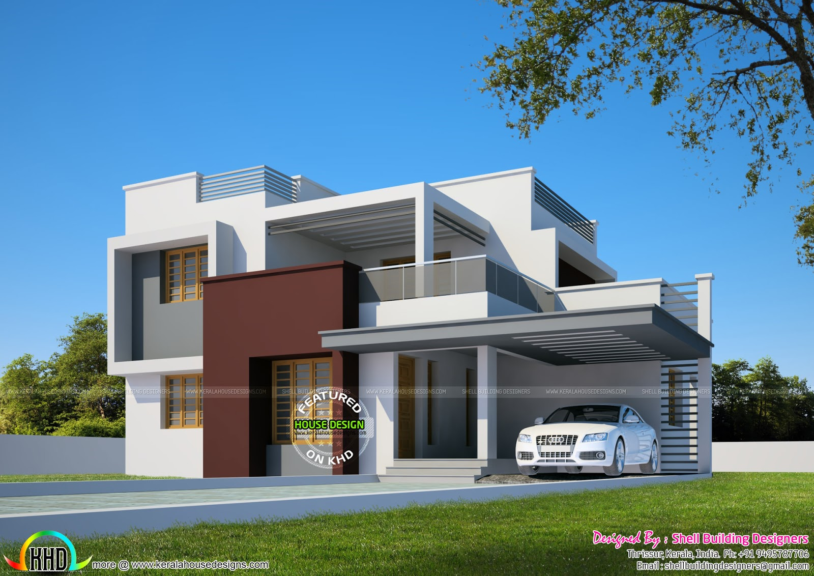 Kerala Home Design 900 Sq Feet
