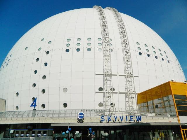 Stockholm, Eurovision, Globen, Ericsson Globe,