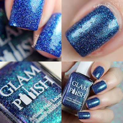 Glam Polish Cosmic Showers │ A Fan Group Custom Shade