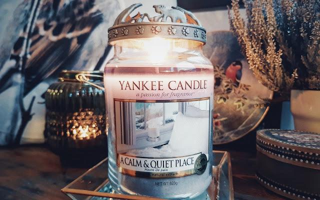 Cisza i spokój :) A Calm & Quiet Place - Yankee Candle - Czytaj więcej »
