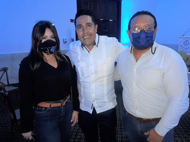 Judith Rivera, Julio Macías y Michael Cruz.