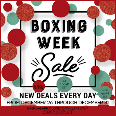 CTMH Boxing Week Sale
