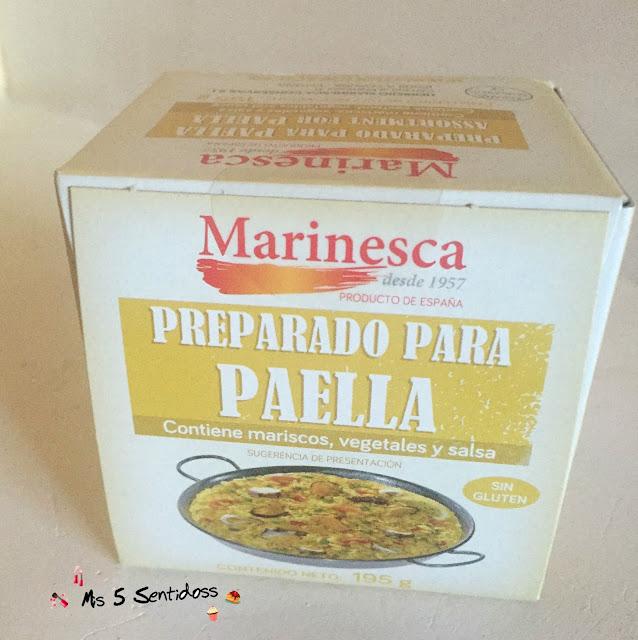 Marisca paella