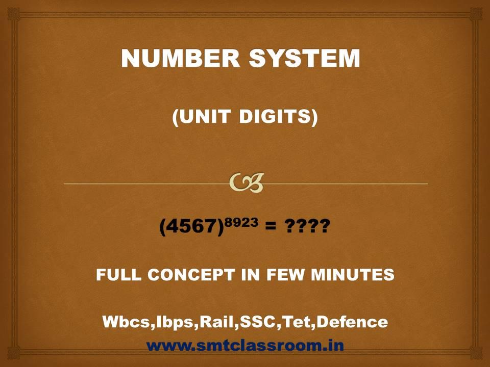 unit digit,how to find unit digit,unit digit tricks,unit digit concept,how to find unit digit of a number,how to find unit digit in bengali,unit digit method,how to find unit digit for higher numbers,how to find unit digit of a number in hindi,find unit digit,unit digit tricks in bengali,unit digit number system,number system,how to find unit digit of a number in bengali