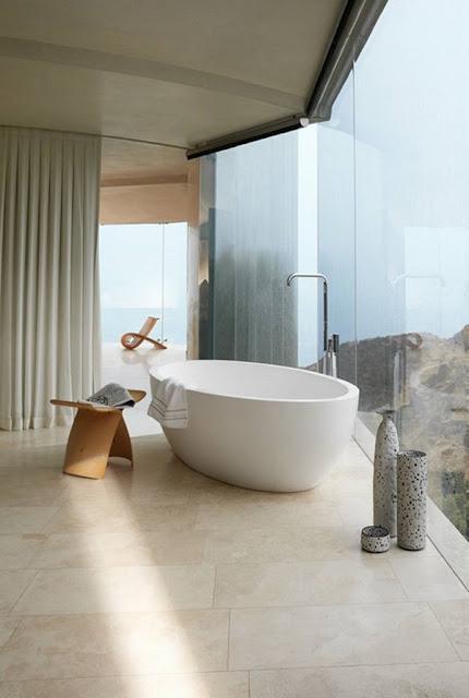 Ngắm nhìn 5 thiết kế phòng tắm với hướng nhìn đẹp tuyệt vời 1