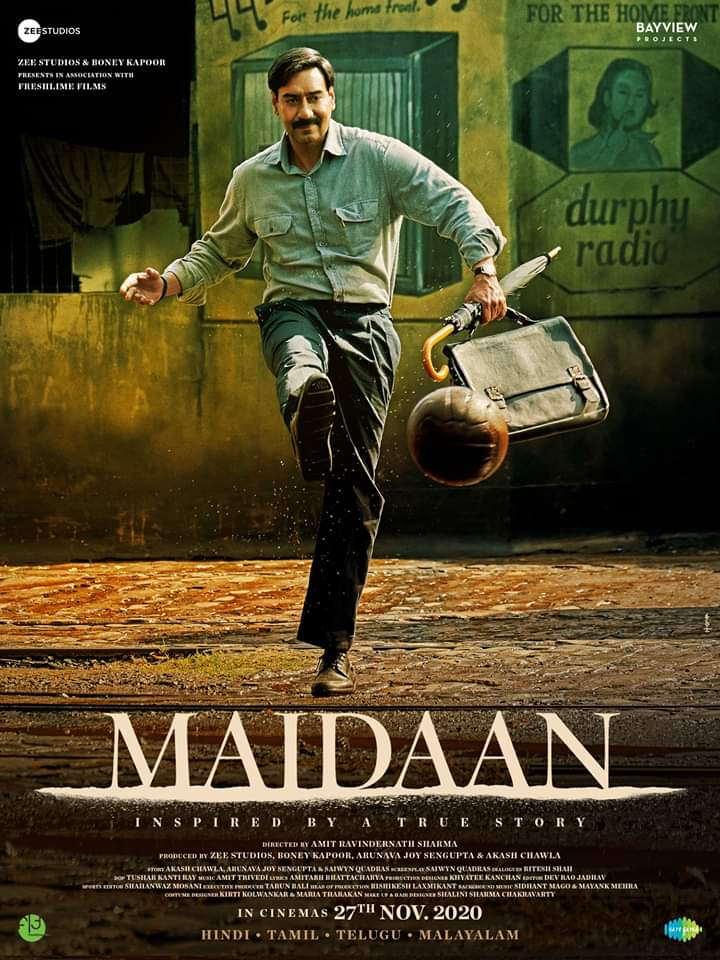 Ajay Devgan once again won everyone's heart from Maidaan Film.
