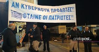Οι Κρητικοί ανεβαίνουν στο συλλαλητήριο της Θεσσαλονίκης με άλογα