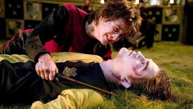 Cedric Diggory en 'Harry Potter y el cáliz de fuego' (2005