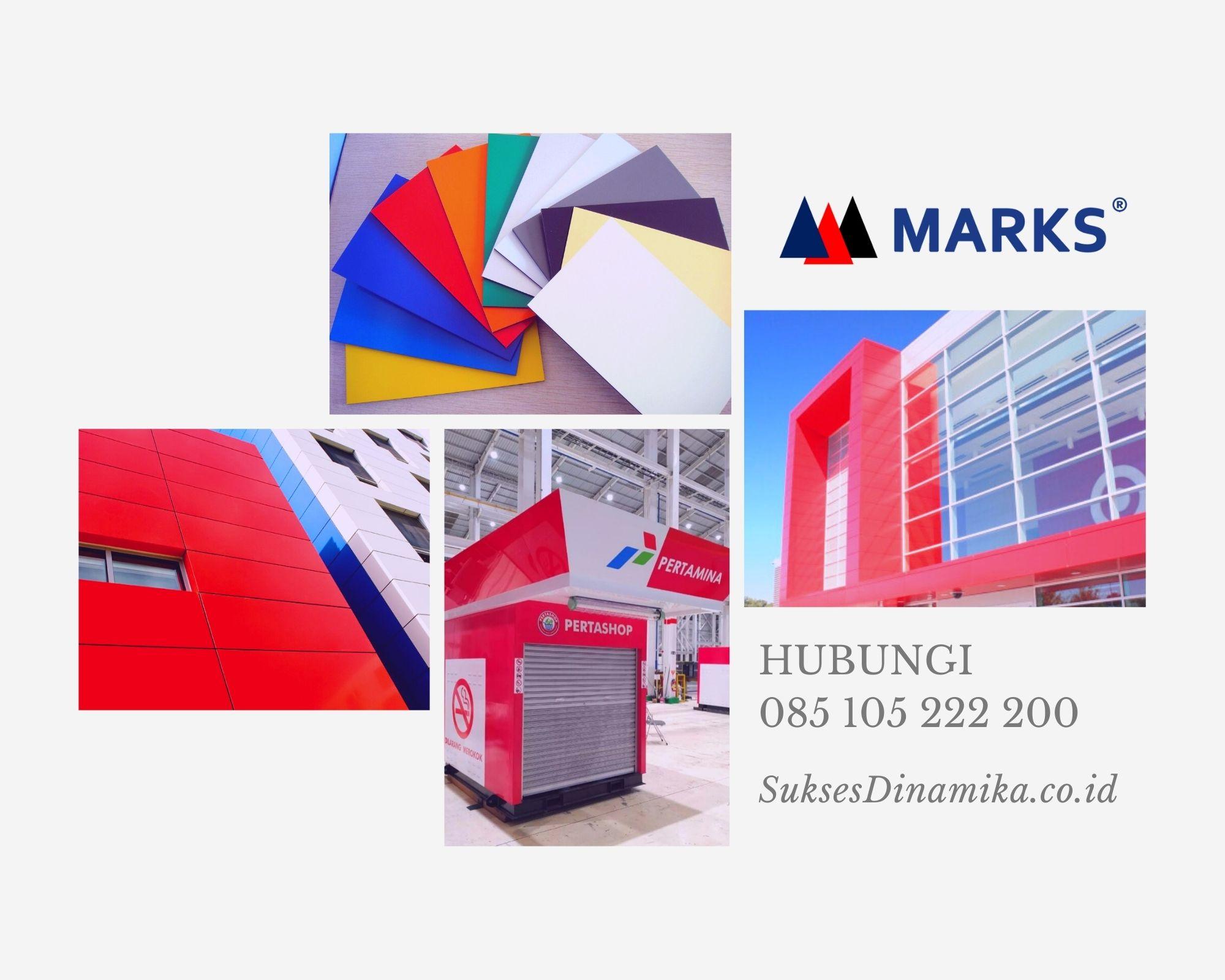 Harga Aluminium Composite Panel Marks Seven Surabaya