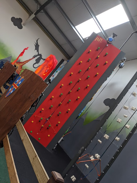 Gulliver's Valley Stay & Play Review Map climbing walls