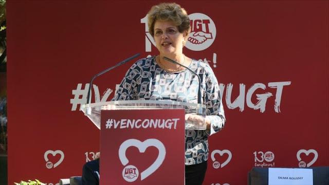 Roussef denuncia 'neofascismo' en el Gobierno de Bolsonaro