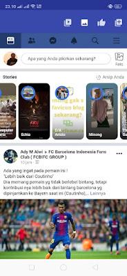 Cara Menyimpan Story Orang Lain di facebook
