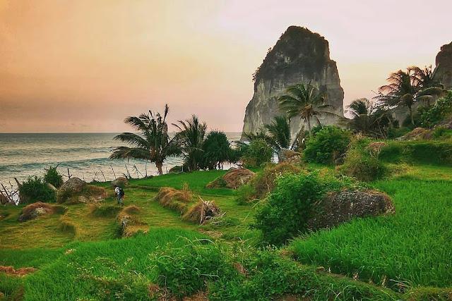 lokasi pantai pangasan pacitan