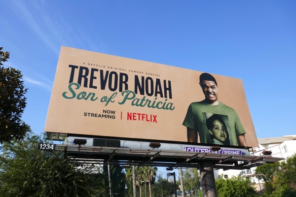Trevor Noah Son of Patricia billboard