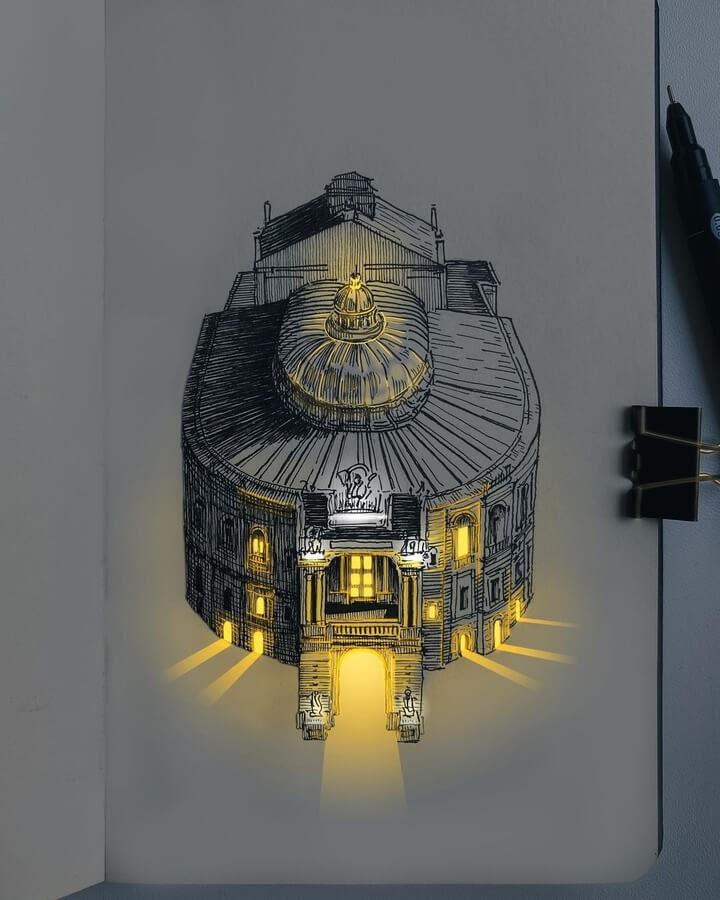 03-The-church-at-night-Никита-www-designstack-co