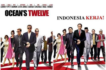 NAMPOL SENDIRI! Viral Meme Indonesia Kerja Pakai Film Ocean's Twelve, Padahal Itu Cerita Geng Maling