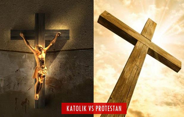 Perbedaan Katolik dan Protestan