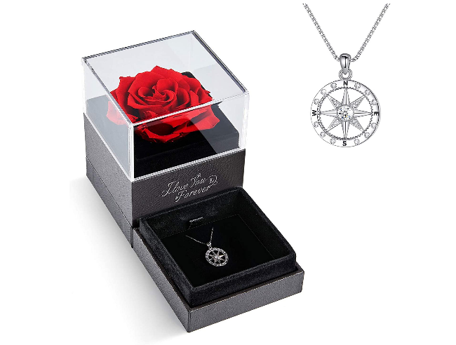 romantic preserved rose wife 10 wedding anniversary gift