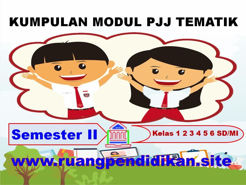 Modul PJJ Tematik Semester 2