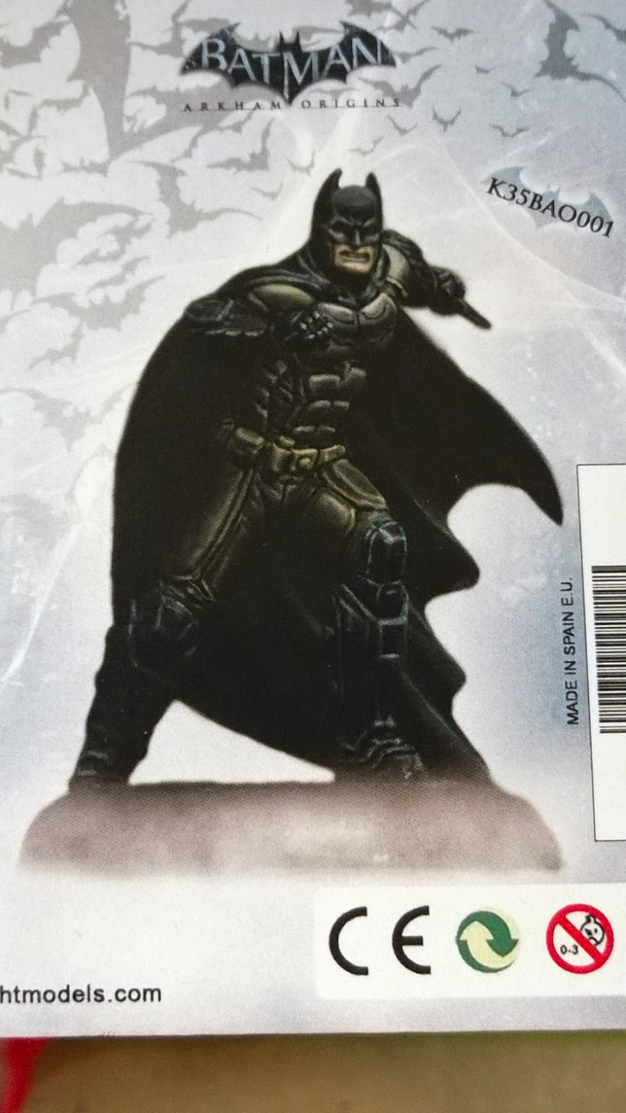 Knight models batman