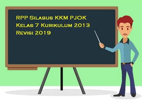 RPP Silabus PJOK Kelas 7 Kurikulum 2013 Revisi 2019