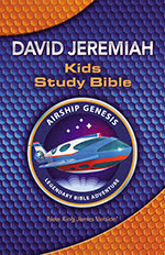 NKJV Airship Genesis Kids Study Bible  cover