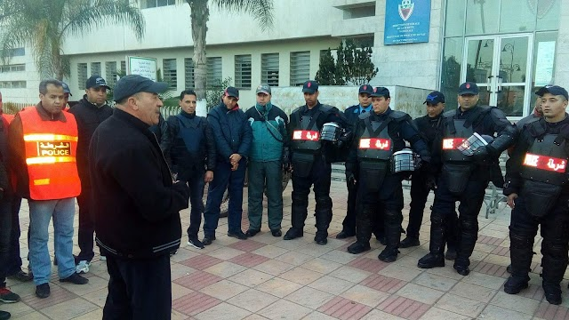 عناصر الأمن الوطني تشن حملات تمشيطية بأحياء مدينة برشيد