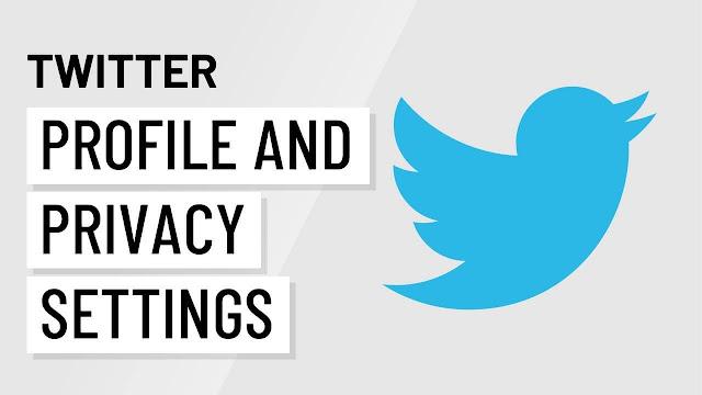 ضبط اعدادات الخصوصية الخاصة بك على تويتر