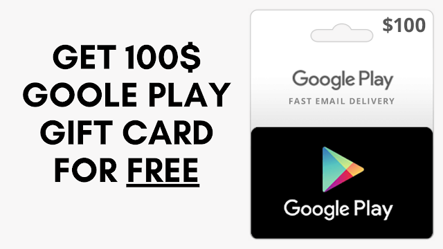 How to Get 100$ google play gift card for FREE (for USA citizens)