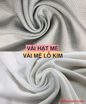 vải hạt mè và vải mè lỗ kim