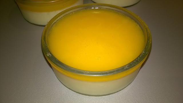 Panacotta légère aux mandarines (thermomix)