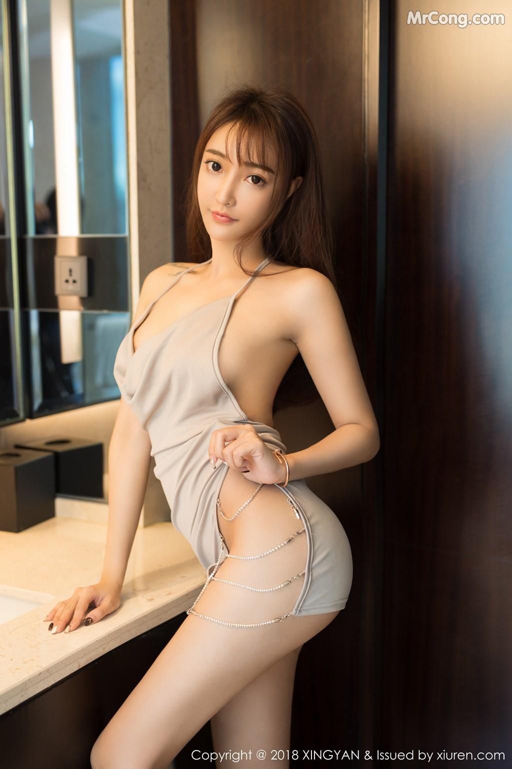 Image XingYan-Vol.090-Angel-MrCong.com-001 in post XingYan Vol.090: Người mẫu 安安Angel (41 ảnh)